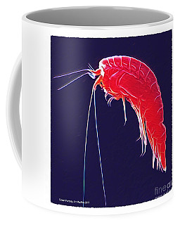 Coffee Mug featuring the photograph Ocean Fantasy - Amphipod by Art MacKay
