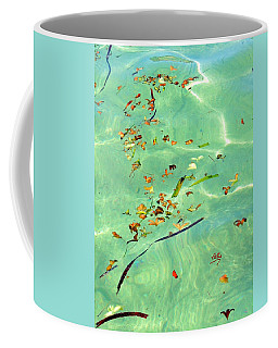 Ocean Flowers Coffee Mug
