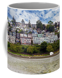 Ocean Front Homes In White Rock Bc Coffee Mug