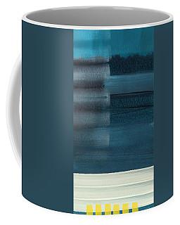 Ocean Front Walk 3- Art By Linda Woods Coffee Mug