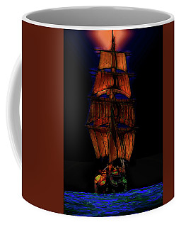 Ocean Glow Coffee Mug by Michael Cleere