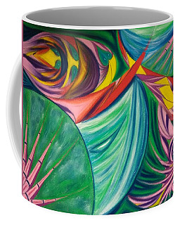Ocean Graffiti Coffee Mug