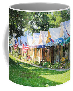 Ocean Grove Tents Sketch Coffee Mug