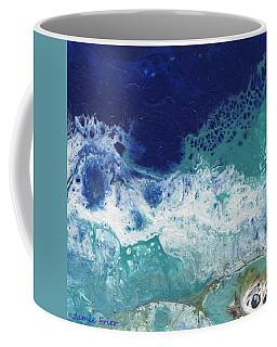 Coffee Mug featuring the painting Ocean by Jamie Frier