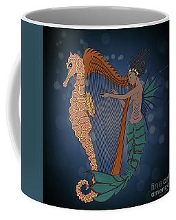 Coffee Mug featuring the digital art Ocean Lullaby1 by Megan Dirsa-DuBois