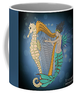 Coffee Mug featuring the digital art Ocean Lullaby3 by Megan Dirsa-DuBois