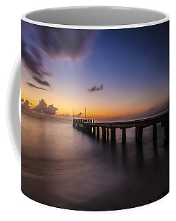 Ocean Pier At Dusk  Coffee Mug