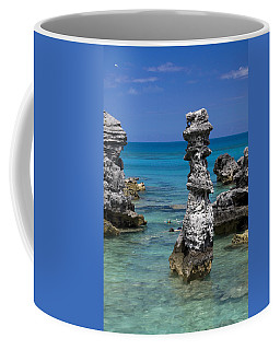 Ocean Rock Formations Coffee Mug