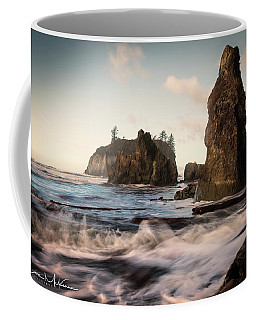 Coffee Mug featuring the photograph Ocean Spire Signature Series by Chris McKenna