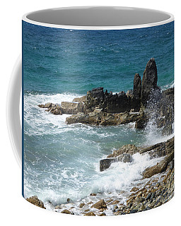 Ocean Spray Mid-air Coffee Mug