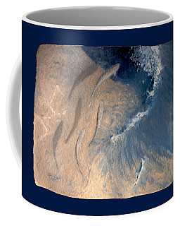 Coffee Mug featuring the painting Ocean by Steve Karol