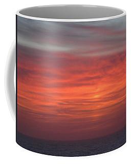 Ocean Sunrise Coffee Mug by Kathy Long