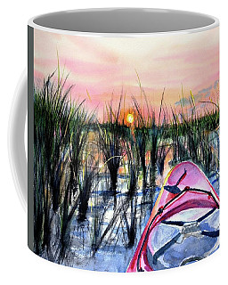 Ocean Sunrise Kayak Coffee Mug
