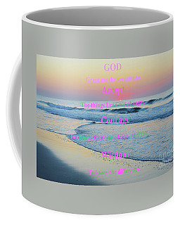 Ocean Sunrise Serenity Prayer Coffee Mug