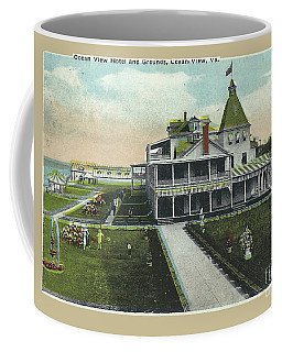Ocean View Hotel Virginia Beach Ocean Front  Coffee Mug