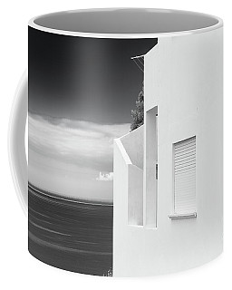 Ocean View White House Coffee Mug