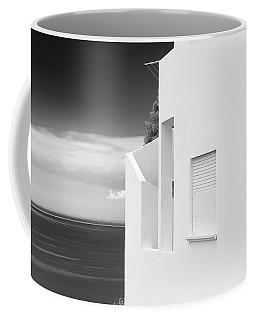 Ocean View White House Coffee Mug