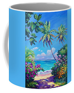 Ocean View With Breadfruit Tree Coffee Mug