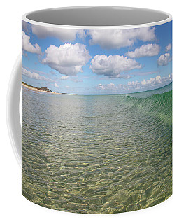 Ocean Waves And Clouds Rollin' By Coffee Mug
