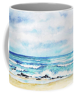 Coffee Mug featuring the painting Ocean Wide by Heidi Kriel