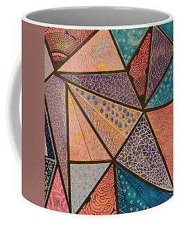 Coffee Mug featuring the mixed media Oceana  by Riana Van Staden