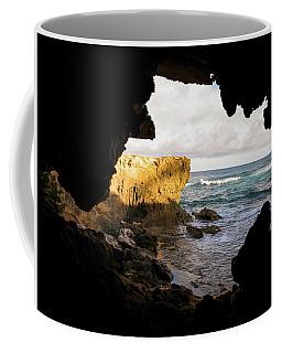 Oceanfront Cave Coffee Mug