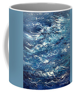 Ocean's Blue Coffee Mug by Valerie Travers
