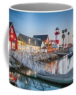 Oceanside Harbor Village At Dusk Coffee Mug