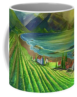 Sunset Vineyard  Coffee Mug