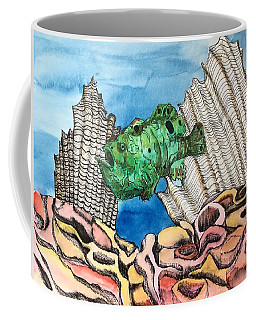 Ocellated Frogfish Coffee Mug