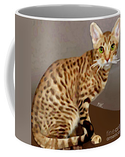 Ocicat Coffee Mug by Marian Cates