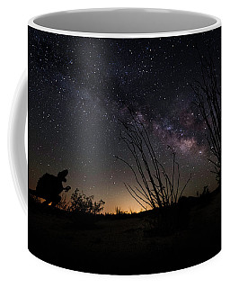 Ocotillo And Dino Milky Way Coffee Mug