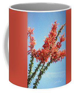 Ocotillo In Bloom Coffee Mug