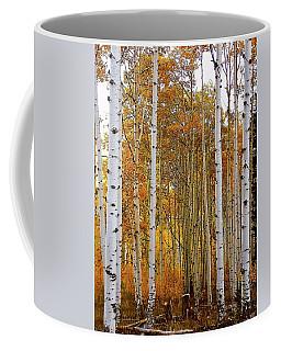 October Aspen Grove  Coffee Mug