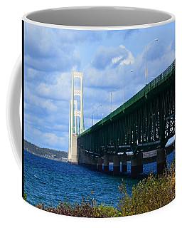 October At The Straits Of Mackinac Coffee Mug