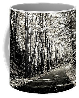 October Grayscale  Coffee Mug