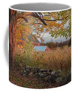 Coffee Mug featuring the photograph October Morning 2016 by Bill Wakeley