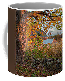 Coffee Mug featuring the photograph October Morning 2016 Square by Bill Wakeley
