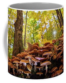 October Mushroom Coffee Mug