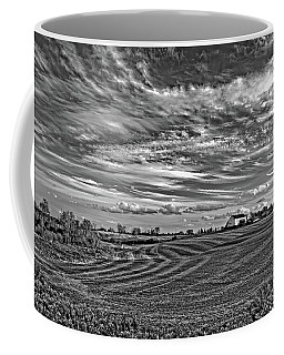 October Patterns Bw Coffee Mug