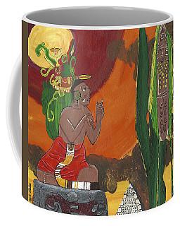 October   Priest Receives Corn Coffee Mug