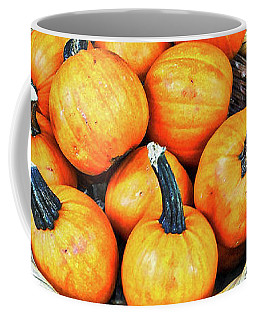 October Pumpkins Coffee Mug
