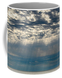 Coffee Mug featuring the photograph October Sky by William Selander