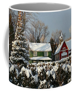 October Snow Coffee Mug