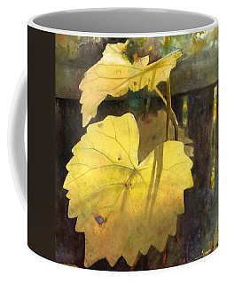 Coffee Mug featuring the painting October Sunday by Andrew King