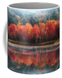 October Trees - Autumn  Coffee Mug by MTBobbins Photography