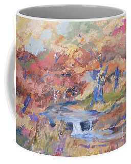 October Walk Coffee Mug