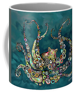 Octopus Colorful Coffee Mug