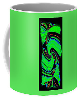 Coffee Mug featuring the digital art Ode To Green by Will Borden