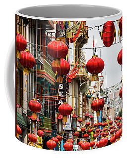 Red Lanterns Coffee Mug
